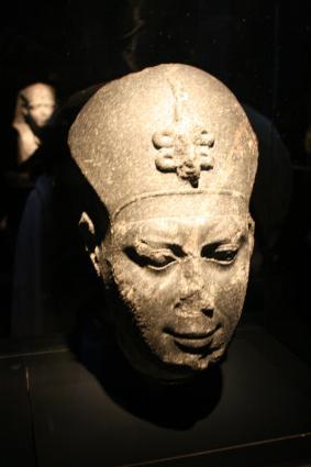 [Photo] Tête de pharaon