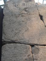 [Photo] La stèle de Ptolémée VIII Evergète II (détail)