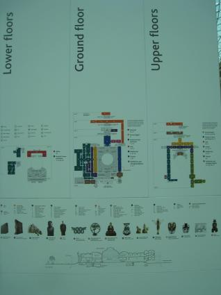 [Photo] Plan du British Museum