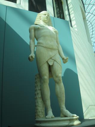 [Photo] Antinous représenté en Osiris