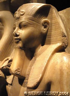 [Photo] Aménophis III et le dieu Sobek