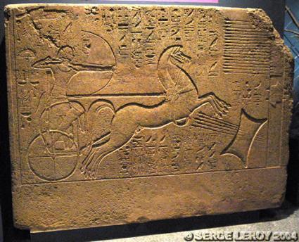 [Photo] Amenhotep II sur son char