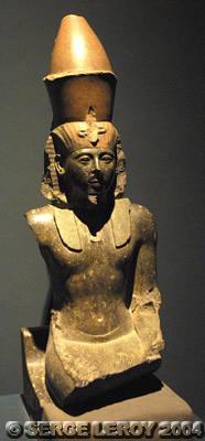 [Photo] Buste de Ramsès II
