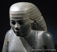 [Photo] Statue de scribe
