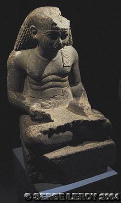[Photo] Montouhotep en scribe