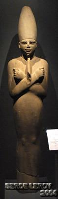 [Photo] Le roi Montouhotep III et Osiris