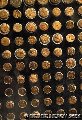 [Photo] Monnaie gréco-romaine en or