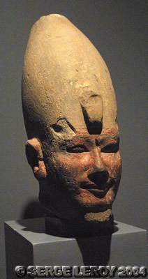 [Photo] Tête du roi Aménophis II