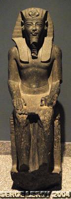 [Photo] Statue du roi Aménophis III