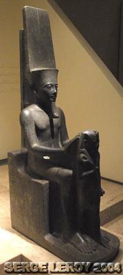 [Photo] Horemheb devant Amon