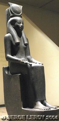 [Photo] Statue d'Hathor