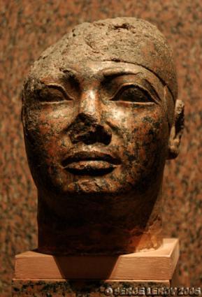 [Photo] Tête du roi Shabataka