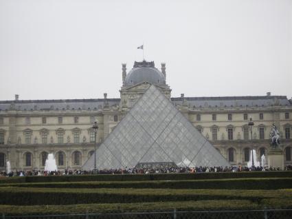[Photo] Pyramide du Louvre