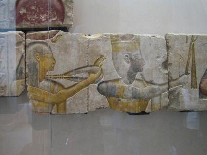 [Photo] Les dieux avec Ramsès II