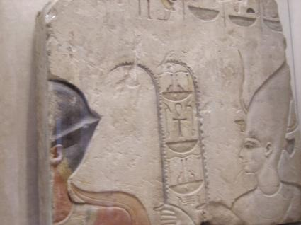 [Photo] Ramsès II et Satet (Satis)