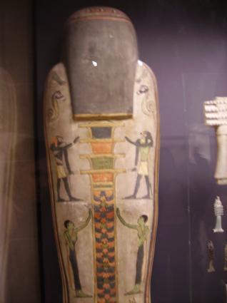 [Photo] Dos du sarcophage du barbier d'Amon