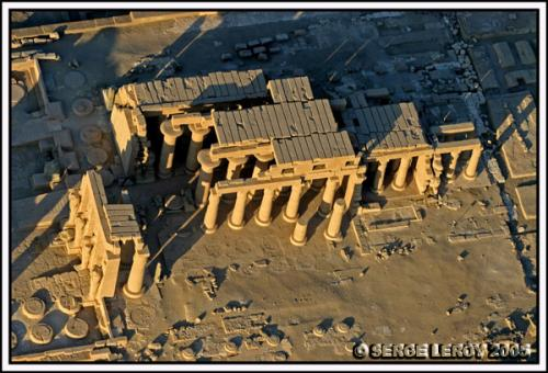 Conception architecturale du Ramesseum
